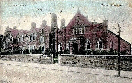 Market Harbrough Public Baths Swimming History
