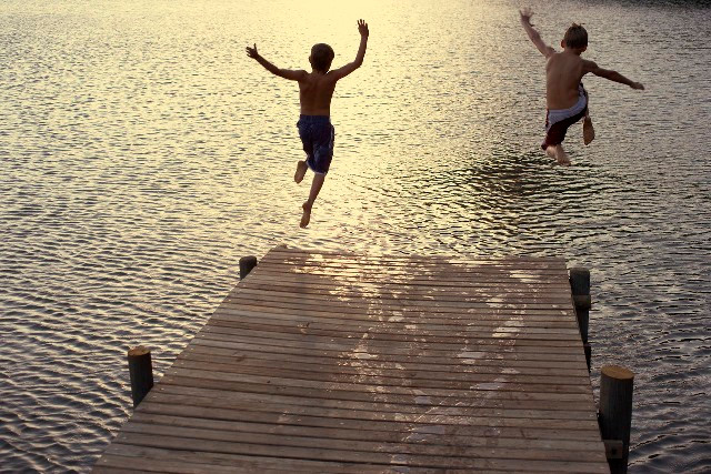 Wild Swimming Can Save Your Childs Life