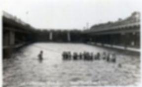 Corporation Sea Bath Westcliffe on Sea Swimmig History