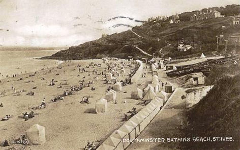 St Ives Cornwall Swimming HIstory