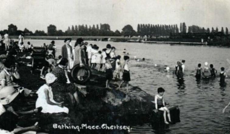 Bathing Place Chertsey
