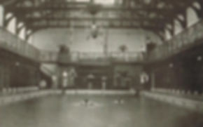 WESTMINSTER. Public Swimming Bath, Great Smith St. London Swimming History