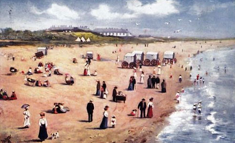 Sea Swimming and Bathing Machines History North Sands Skegness