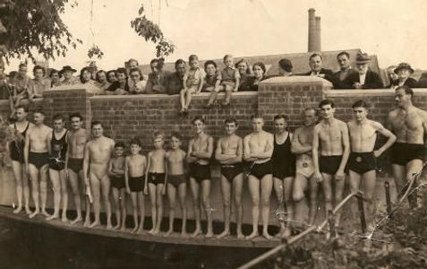 Tiverton River Swimming Race 1949