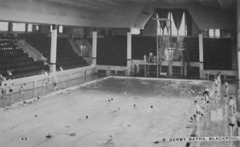 Derby Baths Blackpool Swiming History