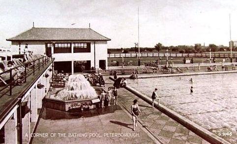 Peterborough Lido Swimming HIstory