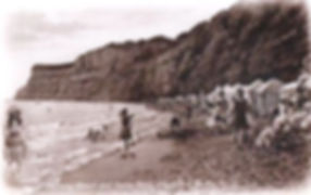 Bathers on the Beach Shanklin Isle of White