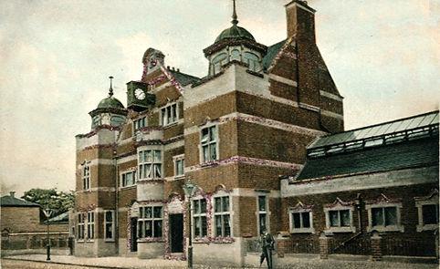 Derby Reginald St Baths Swimming History