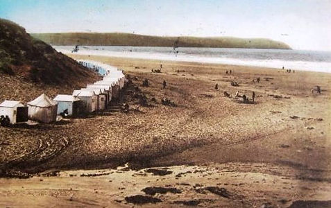 Wollacombe Bathing Beach Devon