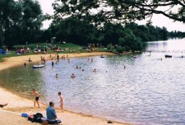 Bathing Beach Cotswold Water Park