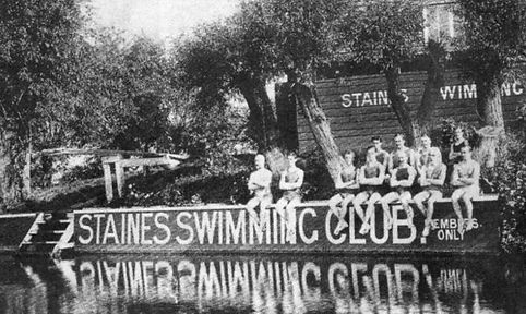 Staines and District Swimming Club History