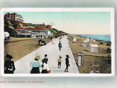 Swimming History – Felixstowe