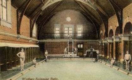 Westbury Church Street Baths Swimming History