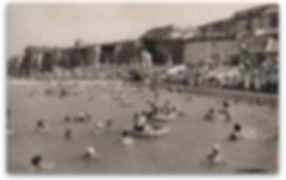 Swimmers enjoy Cliftonville Lido