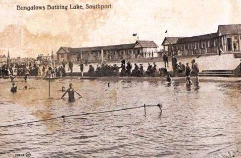 Southport Bathing Lake Swimming History