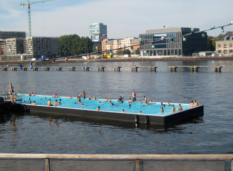 Picture of the week: Wild Swimming in Berlin Germany