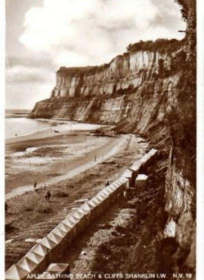 Sea Bathing Shanklin Isle-of-White History