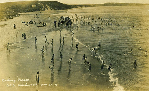 Warkworth Bathing Beach Swimming History