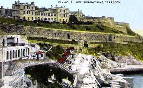 Plymouth Hoe Sun Bathing Terraces