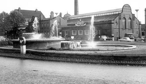 NEWCASTLE-UNDER-LYME  Public Bath, Brunswick Street. Swimming History