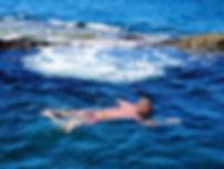 Los Abrigos natural sea pool