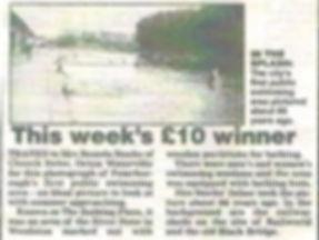 Peterborough River Swimming  History