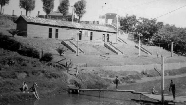 The River Torrens was home for the Gilberton Swimming Club until 1970 when it was banned from using the waterway