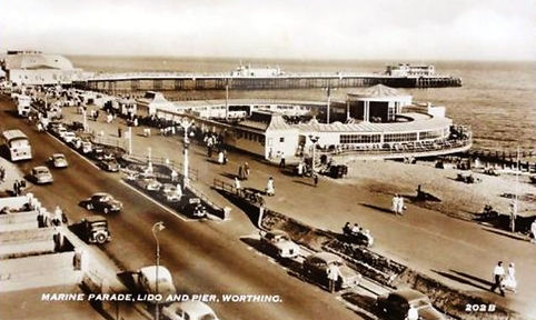 Worthing Lido Swimming History