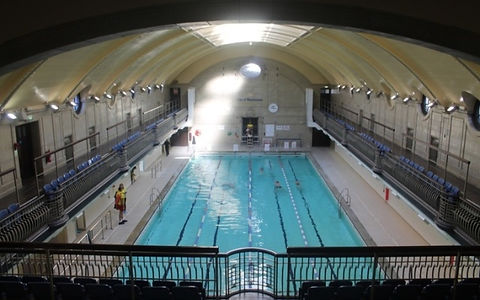 Paddington london Queen's Road Public swimming bath history