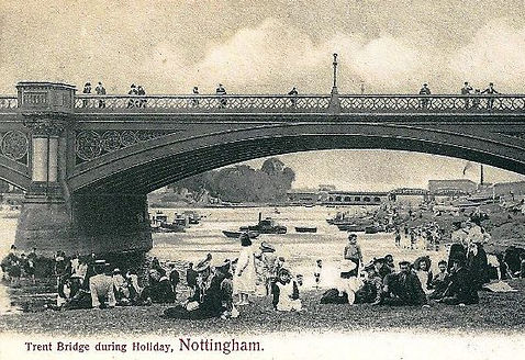 River Swimming Trent Bridge Nottingham