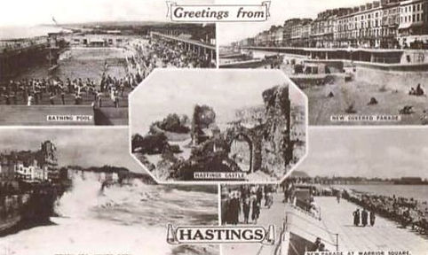 Hastings Beach and Lido History