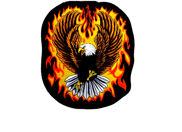 Parche Aguila Fuego