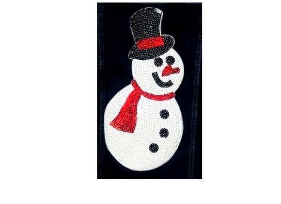 Parche hombre de nieve