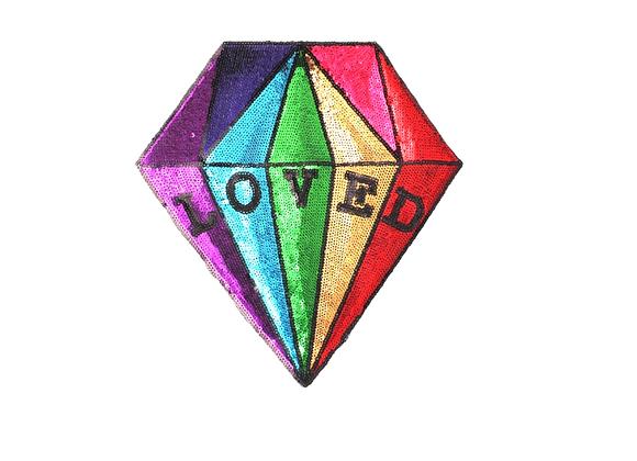 Parche Diamante Multicolor