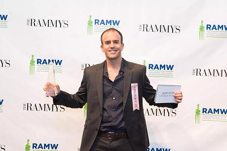 Alex Levin Rammy Award 2016 Pastry Chef of the Year