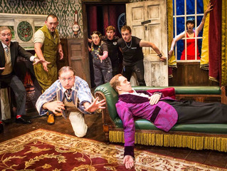 What We're Watching - Theatre Review. The Play That Goes Wrong