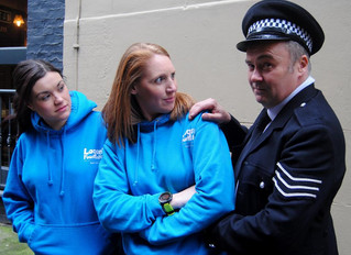 Cop a load of this heart charity whodunit