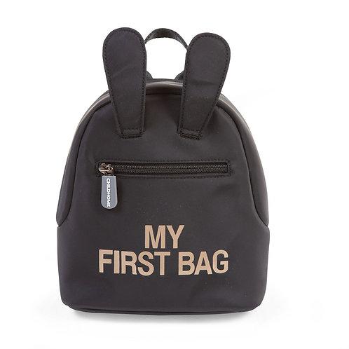 MOCHILA | MY FIRST BAG - PRETA