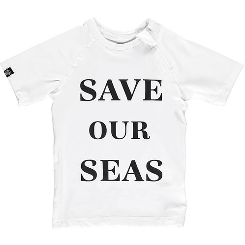 CAMISOLA COM MANGA CURTA | SAVE OUR SEAS