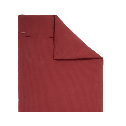 CAPA PARA ALCOFA | PURE INDIAN RED | 80x80