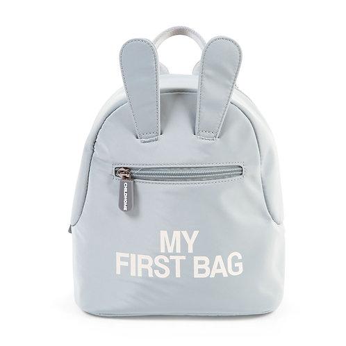 MOCHILA | MY FIRST BAG - CINZA