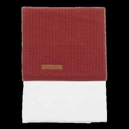 LENÇOL   PURE INDIAN RED   110x140