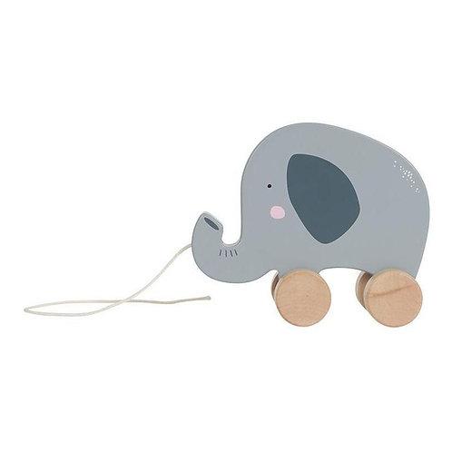 PULL-ALONG ELEPHANT