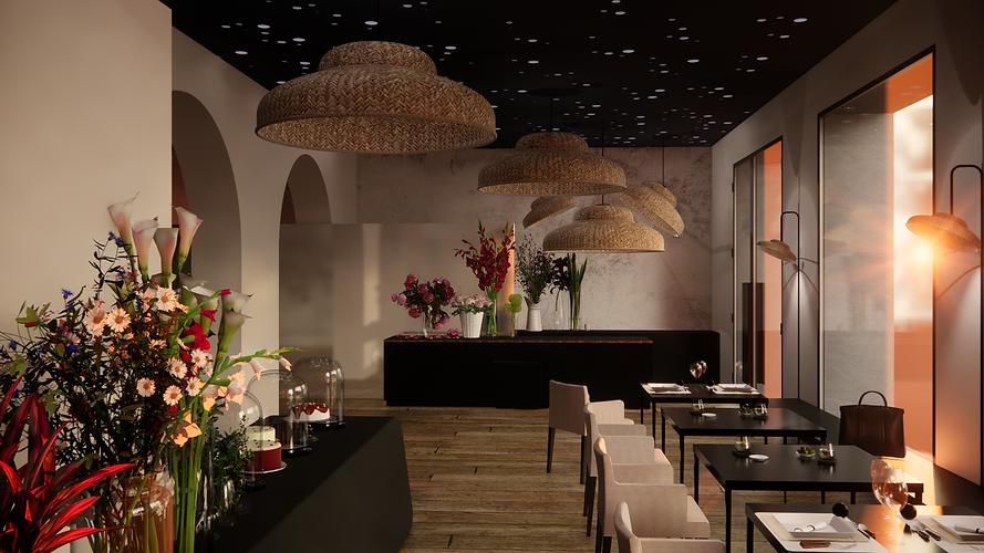 Projet restaurant fleuriste