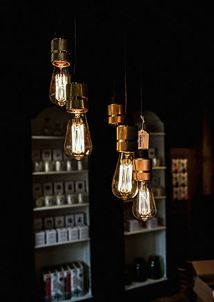 détail sur luminaires concept store faboutique