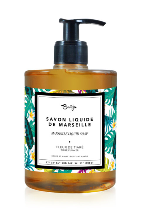 Body & hand soap 500ML Moana Fleur de Tiaré