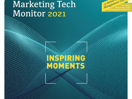 Marketing Tech Monitor 2021 – powered by Statista Q