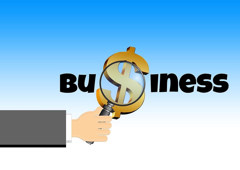 Business unter der Lupe