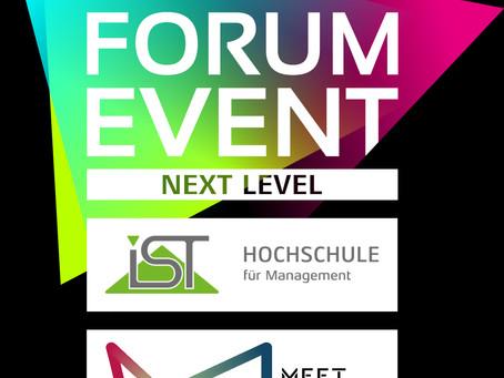Live, digital, interaktiv: FORUM EVENT 2021 mit neuem Konzept