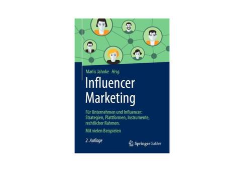 """Buchtipp: """"Influencer Marketing"""" für Blogger und Marketing-Profis"""